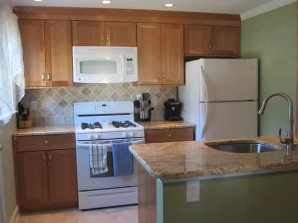 After small kitchen remodeling