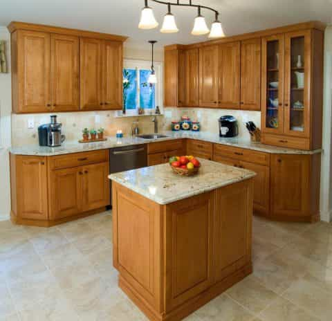 A transitional kitchen remodel in Yardley, PA